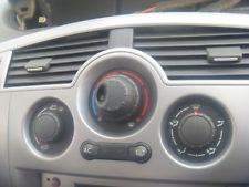 renault scenic 2 electronic aircon controls renault scenic 2 heater  controls (no aircon)